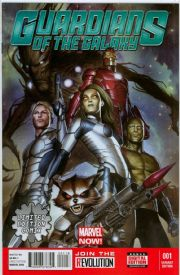 Guardians Of The Galaxy #1 Limited Edition Comix Variant (2013) Movie Marvel comic book